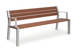 URBIDERMIS, INNER   Panchina con braccioli  Panchina con braccioli