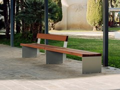 URBIDERMIS, BANCAL | Panchina con schienale  Panchina con schienale