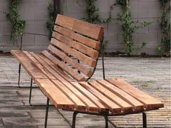 URBIDERMIS, BILATERAL | Panchina con schienale  Panchina con schienale