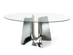 Tavolo ellittico in alluminio BENTZ | Tavolo -