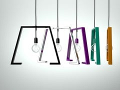 Lampada a sospensione in metallo verniciatoBERLINER 1 - ALTINOX MINIMAL DESIGN