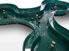 CASCADE, BERMUDA Vasche prefabbricate in materiale composito preassemblate