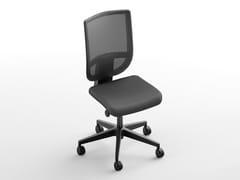 Sedia ufficio operativa con ruoteBERNA | Sedia ufficio operativa - CINQUANTA3