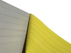 Matrice per parete facciavista in calcestruzzo effetto legnoBETON-UNO W12 - BETON UNO