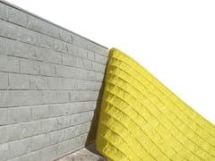 Matrice per parete facciavista calcestruzzo effetto pietraBETON-UNO S58 - BETON UNO