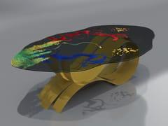 Tavolo in acciaio inox e vetroBETTA - TECNOTELAI