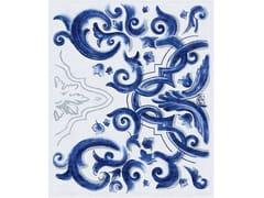 Tappeto fatto a mano in lana e setaBIANCAFIORE - TAPIS ROUGE