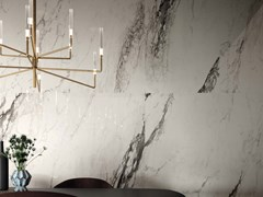 LaFaenza, BIANCO CAL RE Pavimento/rivestimento in gres porcellanato a tutta massa effetto marmo