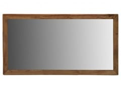 Specchio rettangolare da parete con cornice in pinoBIG BLUE - ARREDIORG