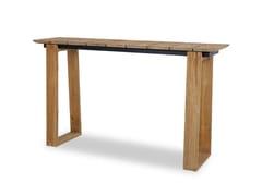Tavolo alto da giardino in teak riciclatoBIG DADDY WINDOW - MAMAGREEN