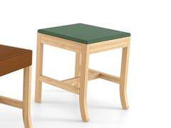 Sgabello in legno masselloBIG JIM   Sgabello basso - ESTEL GROUP