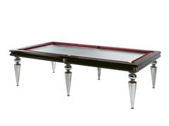 Tavolo da biliardo in legno e vetroBILL - REFLEX