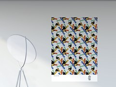 Artwork adesivo riposizionabile in pvcBIRD | Poster - PPPATTERN
