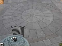 Pavimento per esterni carrabile in pietra naturaleBLACK LIME CLASSIC CIRCLE - STONE AGE PVT. LTD.