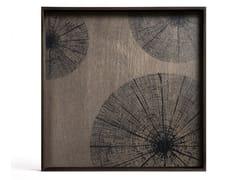 Vassoio quadrato in legnoBLACK SLICE | Vassoio quadrato - ETHNICRAFT