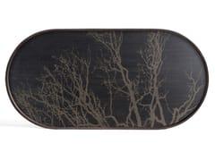 Vassoio ovale in legnoBLACK TREE | Vassoio ovale - ETHNICRAFT