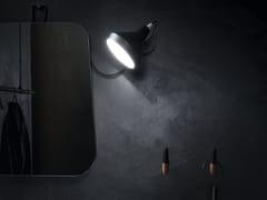 Cerasa, BLACK & WHITE Lampada da specchio orientabile