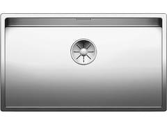 Lavello a una vasca sottotop in acciaio inoxBLANCO CLARON 700-U - BLANCO