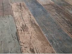 Pavimento/rivestimento in gres porcellanato effetto legnoBLENDART MIX - CERAMICA SANT'AGOSTINO