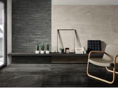 Pavimento/rivestimento in gres porcellanato effetto pietraBLENDSTONE - CERAMICHE COEM