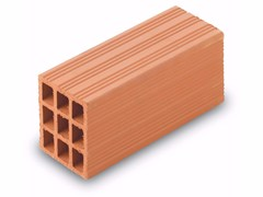 Blocco da muratura in laterizio / Blocco per tamponamento in laterizio Blocchi leggeri 12x15x30 - Blocchi e forati