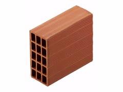 Blocco da muratura in laterizio / Blocco per tamponamento in laterizio Blocchi leggeri 12x25x33 - Blocchi e forati