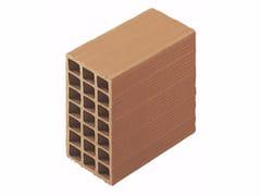 Blocco da muratura in laterizio / Blocco per tamponamento in laterizio Blocchi leggeri 14x25x25 - Blocchi e forati