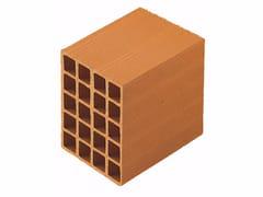 Blocco da muratura in laterizio / Blocco per tamponamento in laterizio Blocchi Leggeri 20x25x25 - Blocchi e forati