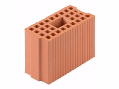 Blocco portante in laterizio per murature armate Blocco 15-29/19 - Blocchi e forati