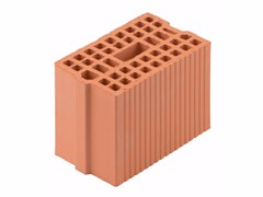 Blocco portante in laterizio per murature armate Blocco 17,5-29/19 - Blocchi e forati