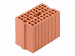Blocco portante in laterizio per murature armate Blocco 20-29/19 - Blocchi e forati