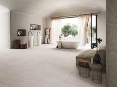 Pavimento/rivestimento in gres porcellanato effetto cemento BLOCK - Effetto Cemento