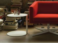 Tavolino rotondo in metallo BLOG | Tavolino rotondo - Complementi