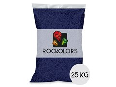 Rockolors, ROCKOLORS BLUE MONDAY Ghiaia colorata