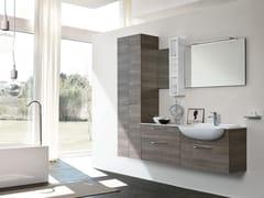 Mobile lavabo sospeso con specchioBLUES 01 - BMT
