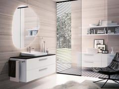 Mobile lavabo sospeso con specchioBLUES 11 - BMT