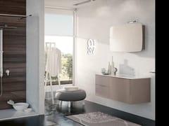 Mobile lavabo sospeso con specchioBLUES 12 - BMT