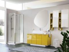 Mobile lavabo da terra con specchioBLUES 13 - BMT