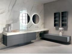 Mobile lavabo sospeso con specchioBLUES 2.04 - BMT