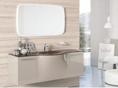 Mobile lavabo sospeso con specchioBLUES 20 - BMT