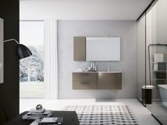 Mobile lavabo sospeso con specchioBLUES 17 - BMT
