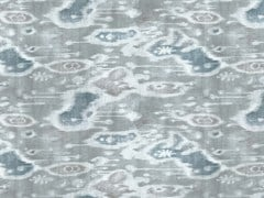 Tessuto stampato in linoBOLINAS - KOHRO