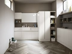 Mobile lavanderia con lavatoioBOLLE 06 - ARBI ARREDOBAGNO