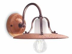 Applique in ceramica con braccio fissoBOLOGNA | Applique - FERROLUCE