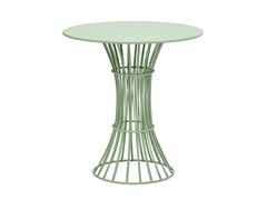 Tavolo da giardino rotondo in acciaioBOLONIA | Tavolo da giardino - ISIMAR