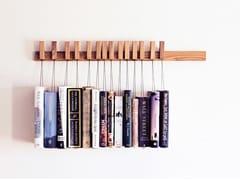 Libreria a parete in legno masselloBOOK RACK | Libreria in rovere - AGUSTAV