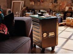 Carrello portavivande in alluminio verniciato a polverebordbar_box coffee - BORDBAR DESIGN