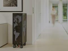 Carrello portavivande in alluminiobordbar_new black - BORDBAR DESIGN