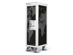 Carrello portavivande in alluminio anodizzatobordbar_new coffee - BORDBAR DESIGN
