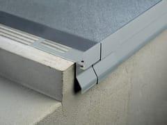 Profilo per terrazze e pavimenti sopraelevatiBORDERTEC BHO - PROFILITEC